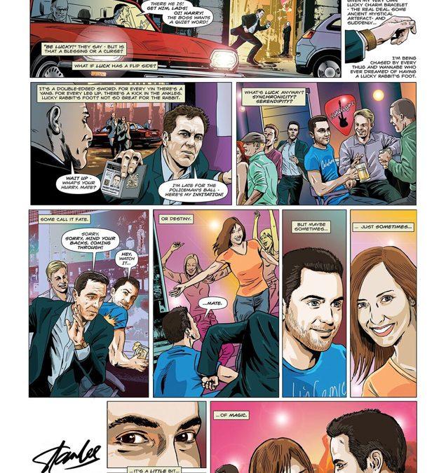 lucky man brian williamson comic book artist