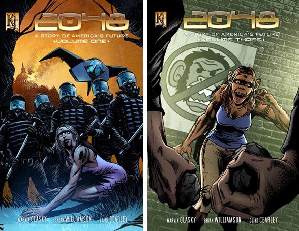 2048 comic series