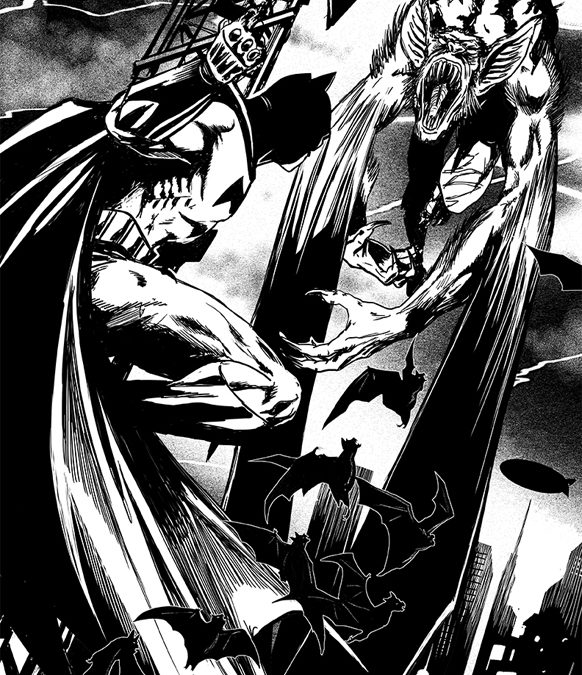 batman brian williamson comic book artist