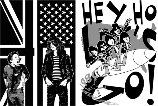 Ramones Gabba Gabba Hey! brian williamson comic book artist