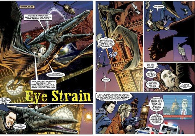 Primeval -Eye Strain