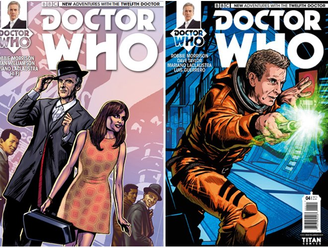 Doctor Who Covers Peter Capaldi brian williamson comic book artist