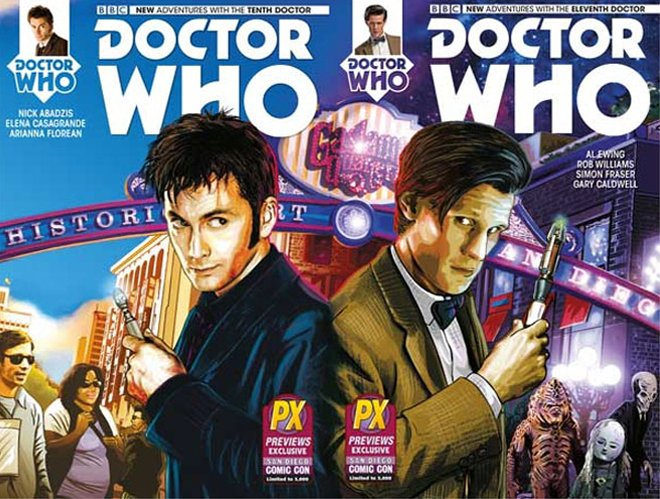 Doctor Who Covers brian williamson comic book artist