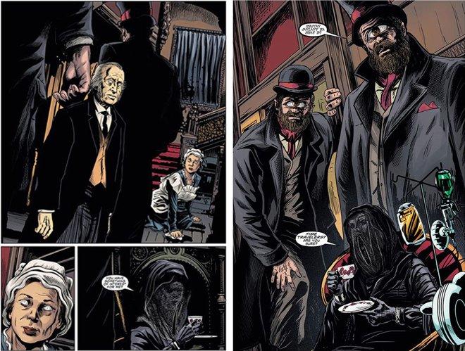 Doctor Who tom Baker brian williamson comic book artist
