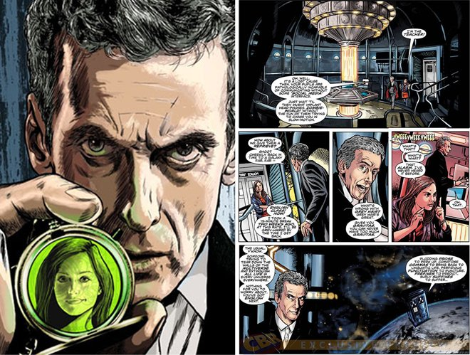 Doctor Who Peter Capaldi brian williamson comic book artist