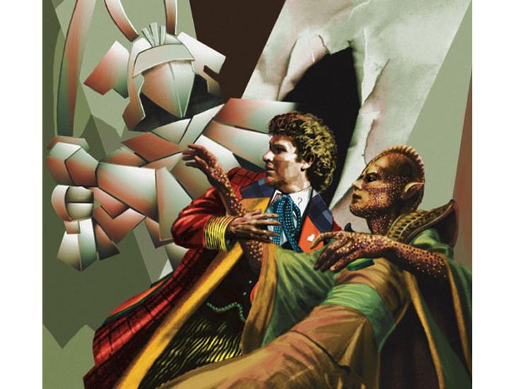 Doctor Who Colin Baker brian williamson comic book artist