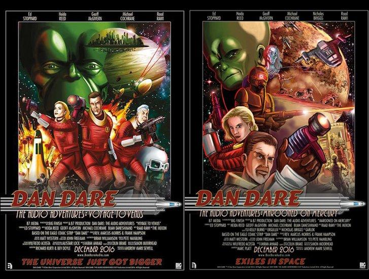 Dan Dare posters